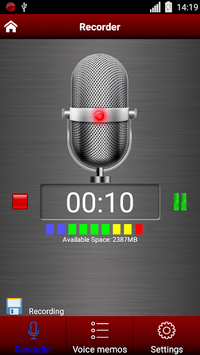 Voice recorder APK screenshot 3