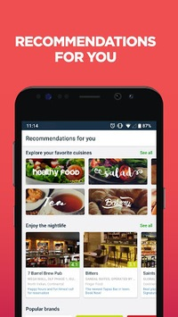Zomato - Restaurant Finder and Food Delivery App APK screenshot 2