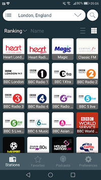 Radio UK - Free Radio FM, Internet Radio Online APK screenshot 2