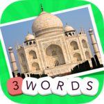 3 Words: Geography APK icon