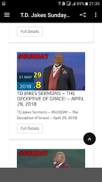 T D  Jakes Sunday Sermons APK : Download v1 6 for Android at