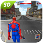 Spider SuperHero VS Incredible Monster City Battle APK icon