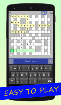 English Crossword puzzle APK screenshot 1