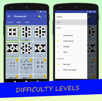 English Crossword puzzle APK screenshot 2