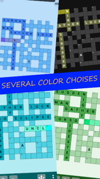 English Crossword puzzle APK screenshot 3