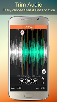 Audio MP3 Cutter Mix Converter and Ringtone Maker APK screenshot 3