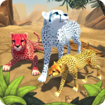 Cheetah Family Sim APK icon