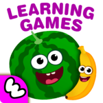 FunnyFood Kindergarten learning games for toddlers APK icon