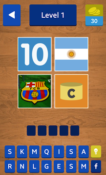4 Pics 1 Footballer APK screenshot 2