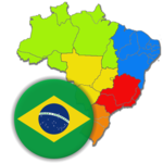 Brazilian States - Quiz about Flags and Capitals APK