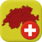 Swiss Cantons - Quiz about Switzerland's Geography APK icon