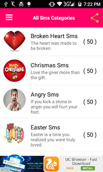 Romantic Love SMS 2019 APK : Download v1 8 for Android at AndroidCrew