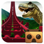 Real Dinosaur RollerCoaster VR APK icon