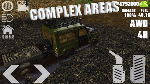 4X4 DRIVE : SUV OFF-ROAD SIMULATOR APK screenshot 3