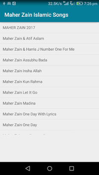Maher Zain Islamic Songs APK : Download v1 1 for Android at AndroidCrew