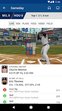 MLB At Bat APK screenshot 1