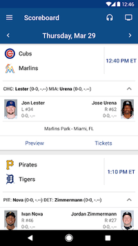 MLB At Bat APK screenshot 2