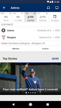 MLB At Bat APK screenshot 3