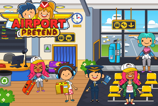 My Pretend Airport - Kids Travel Town Games APK : Download v1 9 for