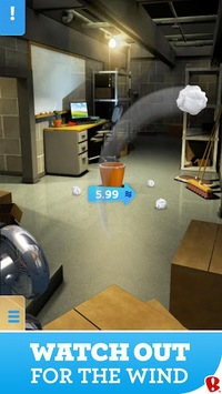 Paper Toss APK screenshot 2