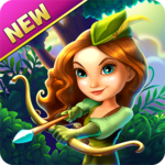 Robin Hood Legends – A Merge 3 Puzzle Game APK icon
