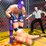 Wrestling Cage Championship : WRESTLING GAMES APK icon