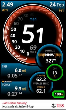 Ulysse Speedometer APK screenshot 3