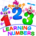 Learning numbers for kids! Writing Counting Games! APK icon