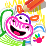 Bini DRAW & DANCE! Painting Toddler Coloring Apps APK icon