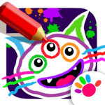 Drawing for Kids and Toddlers! Painting Apps! APK icon