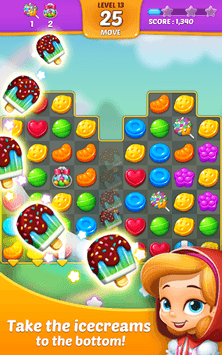 Lollipop: Sweet Taste Match 3 APK screenshot 2