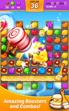 Lollipop: Sweet Taste Match 3 APK screenshot 3