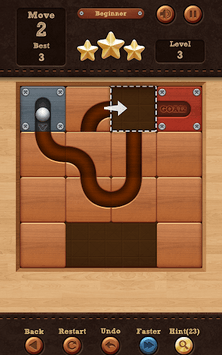 Roll the Ball® - slide puzzle APK screenshot 2
