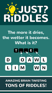 Just Riddles APK screenshot 1