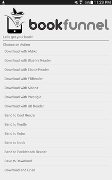 BookFunnel APK screenshot 1