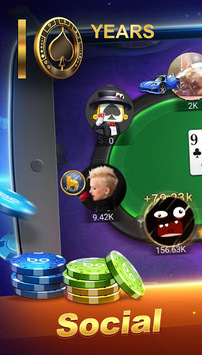 Boyaa Poker (En) – Social Texas Hold'em APK screenshot 1