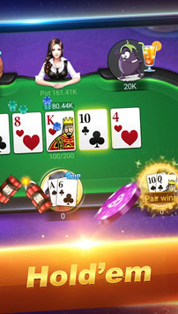Boyaa Poker (En) – Social Texas Hold'em APK screenshot 2