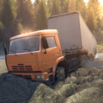 Orange Truck Driver Orange Transporter APK