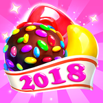 Crazy Candy Bomb - Sweet match 3 game APK icon