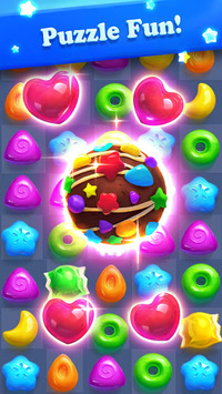Crazy Candy Bomb - Sweet match 3 game APK screenshot 3