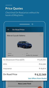 CarWale - New cars & used cars prices in India APK screenshot 2