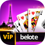 VIP Belote - French Belote Online Multiplayer APK icon