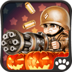 Little Commander WW2 Halloween APK icon