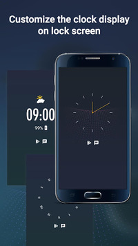 Display Clock On Lockscreen, Clock On Sleep Screen APK