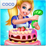 Real Cake Maker 3D - Bake, Design & Decorate APK icon