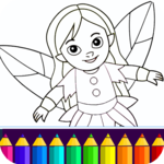 Coloring game for girls and women APK icon