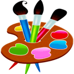 Painting and drawing game APK icon