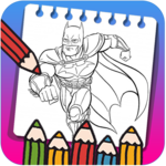 Super Hero Coloring Book for Kids New Coloring APK icon