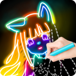 Draw Glow Comics APK icon