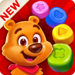 Toy Party: Match Three Game in Six Directions! APK